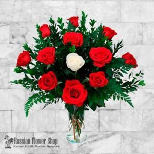 Ukraine Roses Bouquet #12